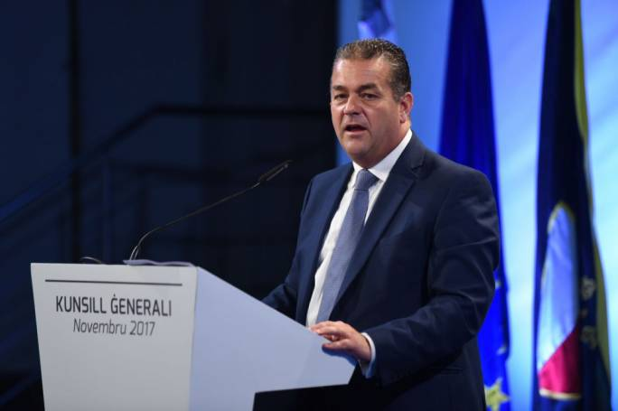 PN deputy leader Beppe Fenech Adami (Photo by James Bianchi)