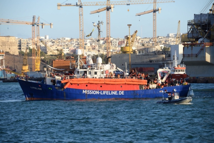 Lifeline migrant ship still awaiting approval to dock in Malta