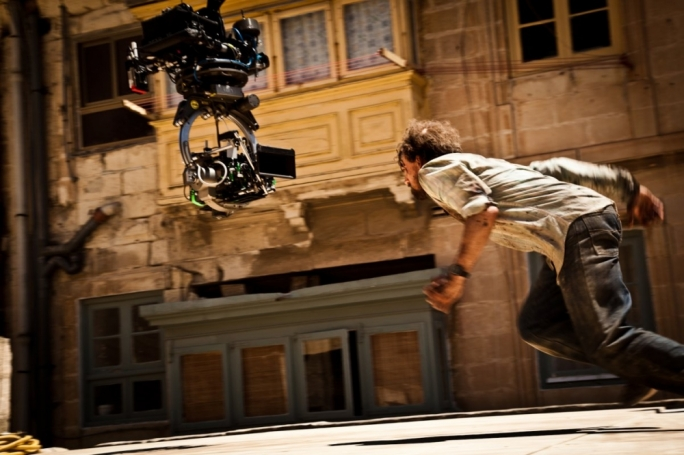 Filmed in Malta: behind the scenes shots from the movie World War Z (2013)