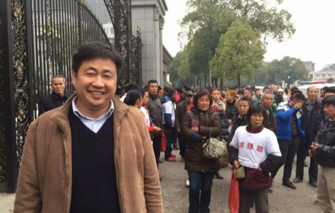 Lawyer Xie Yang who has been detained by Chinese authorities as part of a crack down on human rights campaigners