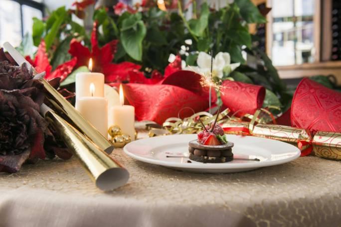 Christmas dessert at Vinotheque