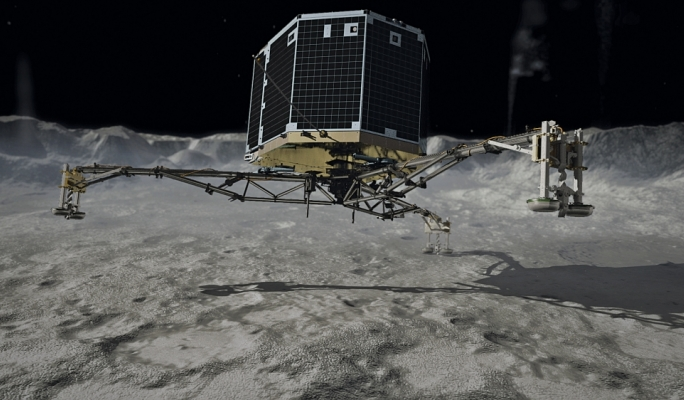 Science in the City will be commemorating the Rosetta landing with an interactive installation at St George's Square