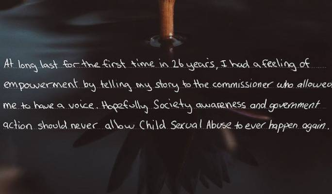 (Photo: Royal Commission into Child Sexual Abuse)
