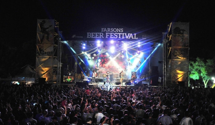 Tribali at Farsons Beer Festival on Monday night. The group attracted a good number of fans to Ta' Qali National Park.
