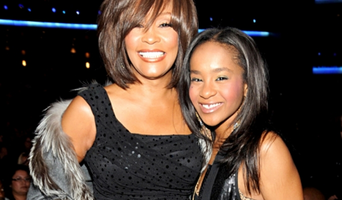 The late Whitney Houston with her daughter Bobbi Kristina Brown in happier times
