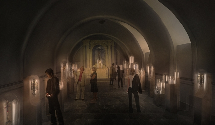 Artist's impression of the Silver Vaults