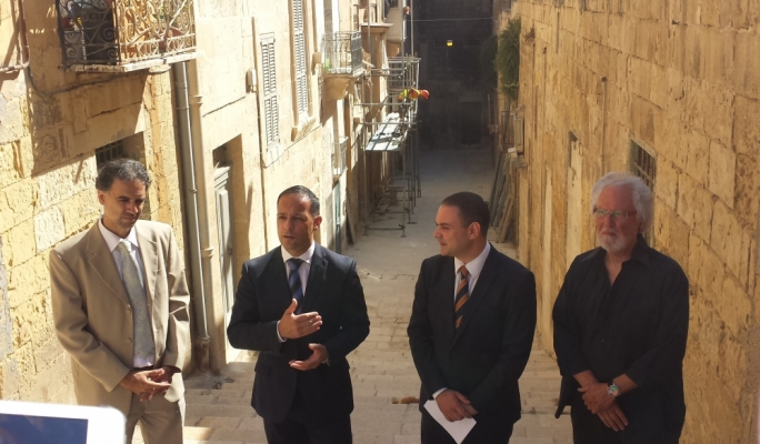 From left: Caldon Mercieca, Jason Micallef, Owen Bonnici and Richard England