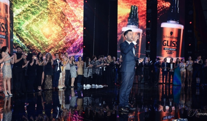 Malta Eurovision Song Contest host Ben Camille with tonight's hopefuls