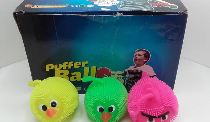 Ball with the brand name 'Puffer Ball' manufactured in China (Photo: MCCAA)