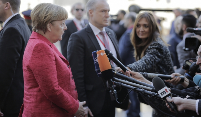 [WATCH] EU leaders prepare show of force on irregular immigration
