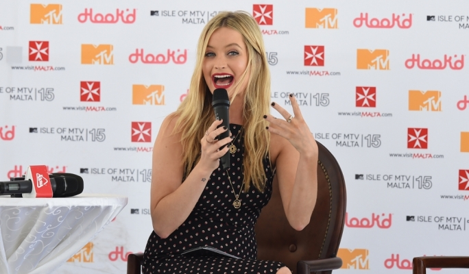 MTV Presenter Laura Whitmore • Photo by Ray Attard