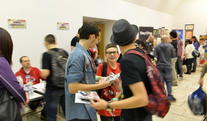 The sixth edition of Malta Comic Con is currently underway at St James Cavalier. Photo by Ray Attard