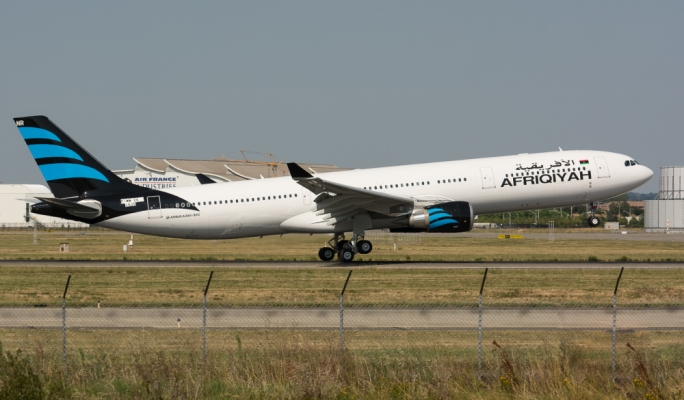 Afriqiyah Airways cannot operate flights to Malta