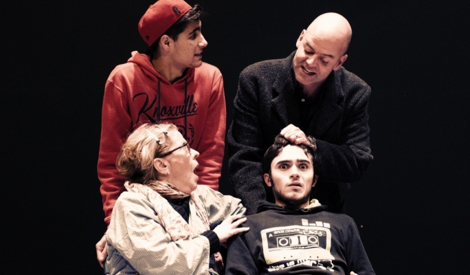 Clockwise from top: Matthew Ben Attard, Alan Paris, Andre Agius and Marylou Coppini