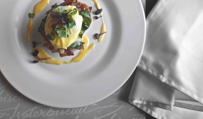 Start the day right with eggs Benedict