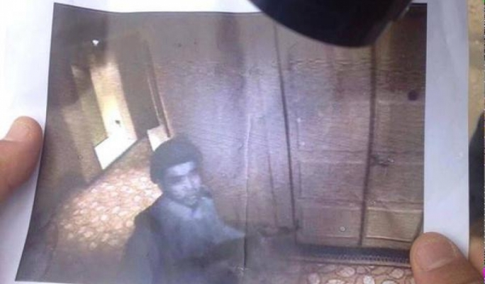 A photo from the Corinthia CCTV of one of the attackers