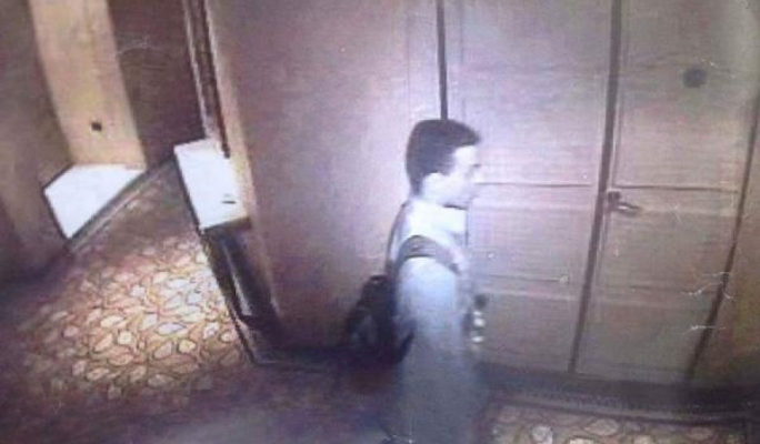 Stills of CCTV images purporting to show two of the gunmen involved in attack the Corinthia