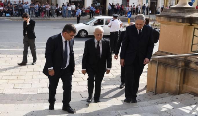 President emeritus Eddie Fenech adami