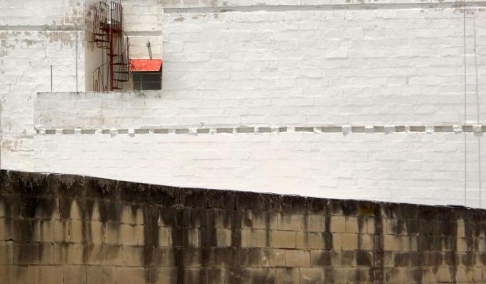 Selection of David Pisani's 'Walls of Perception', critiquing Malta's rampant overdevelopment drive