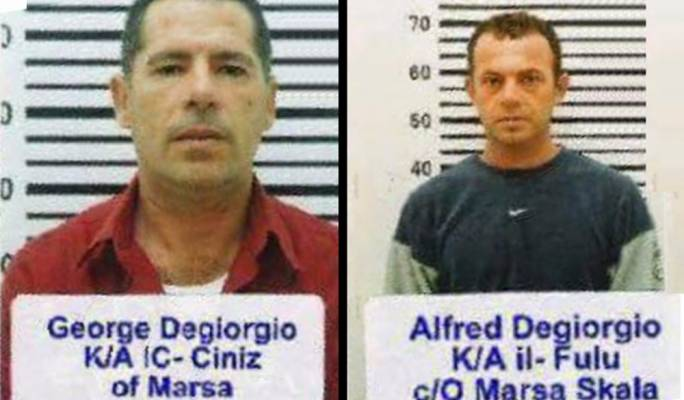 The Degiorgio brothers are among 10 men arrested in connection with Daphne Caruana Galizia's murder
