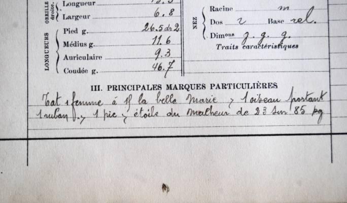 Tat femme á la belle Marie, l oiseau portant truban and etoile du Malheur. (Courtesy Archives départementales des Bouches-du-Rhône, Marseille)