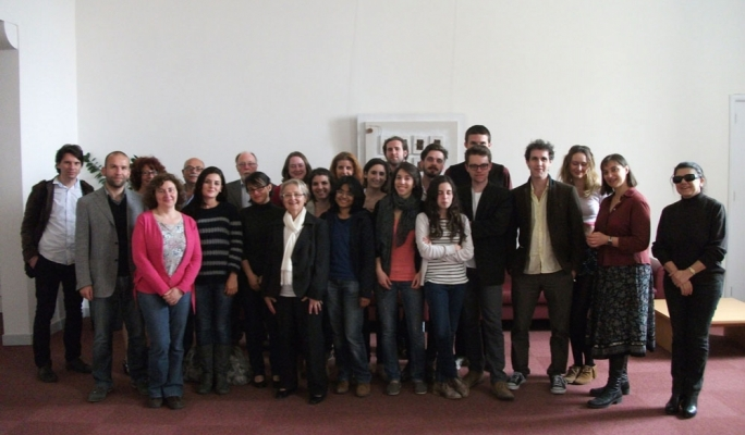 Participants at the Writing the Mediterranean Programme (2014)