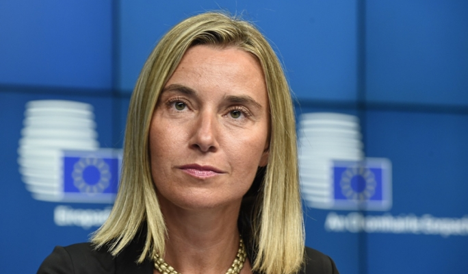 U.S.  will fully implement JCPOA, says EU's Foreign Policy Chief Mogherini