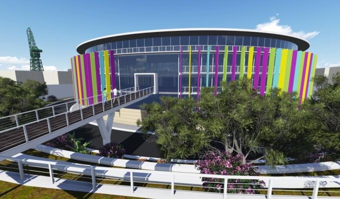 Artist's impression of the new Creative Centre in Marsa
