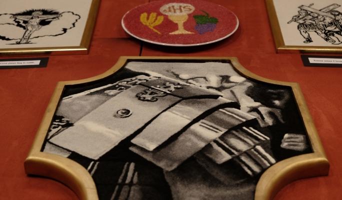 Good Friday salt plates exhibition - Zebbug