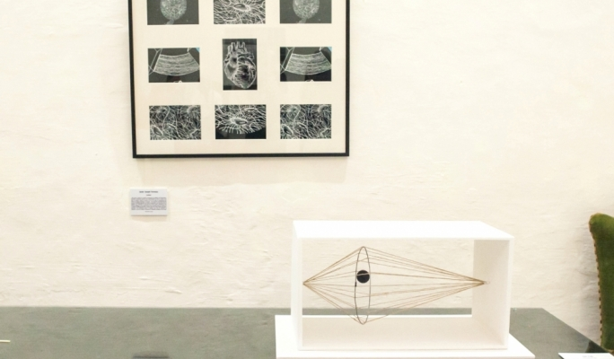 Some of the science-inspired artistic works by MCAST Institute of Art and Design students.