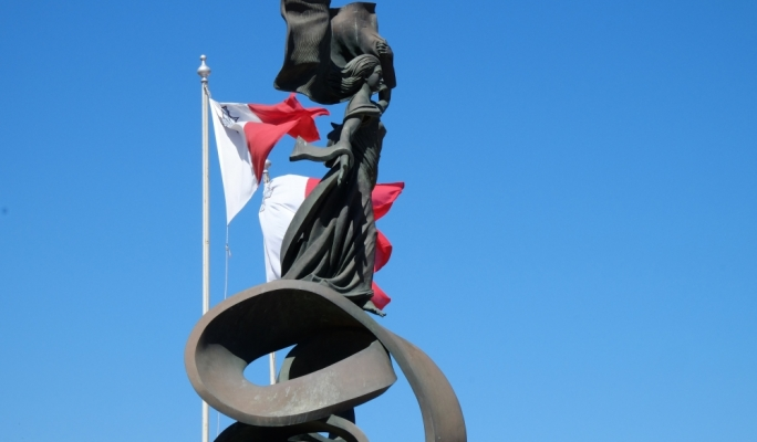 The Independence monument in Floriana (Photo: Chris Mangion)