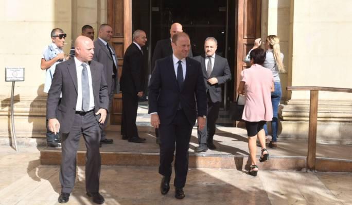 [SLIDESHOW] Prime Minister Joseph Muscat