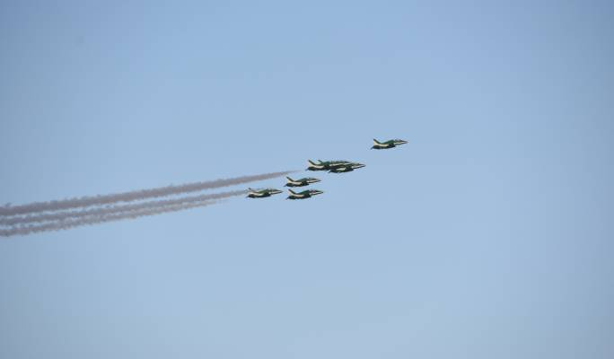 Saudi Air force team