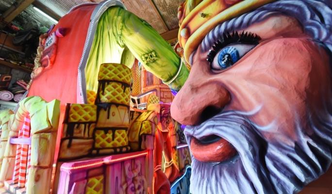 King Carnival Float