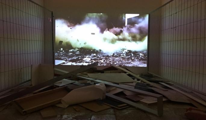 'Last Dream', video installation by Sonia Guggisberg