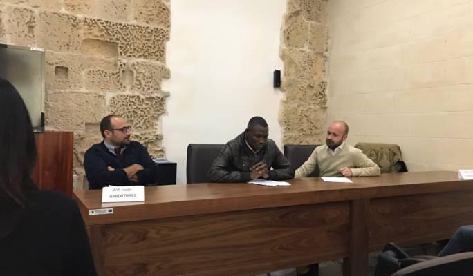 Antoine Mifsud, Sarjok Cham and Neil Falzon of aditus Foundation