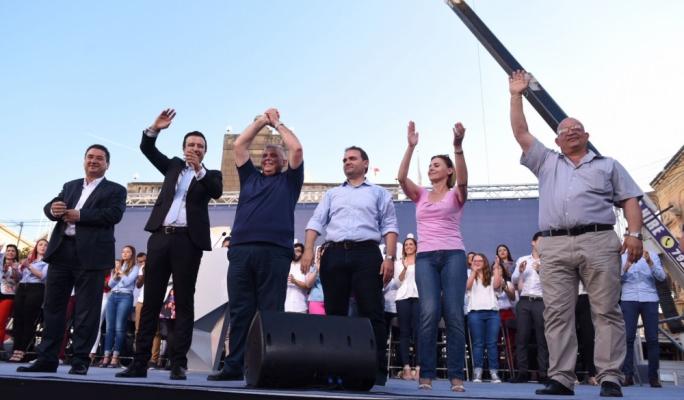 Labour candidates: Joe Cordina, Clint Camilleri, Anton Refalo, Franco Mercieca, Justyne Caruana and George Camilleri