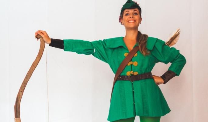 Maxine Aquilina is Robin Hood