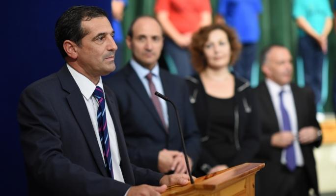 Parliamentary Sport Secretary Chris Agius