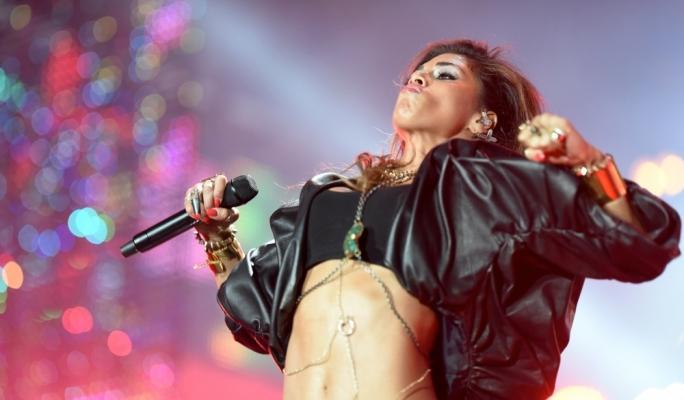 Nicole Scherzinger performs at Isle of MTV last summer. Photo by Ray Attard