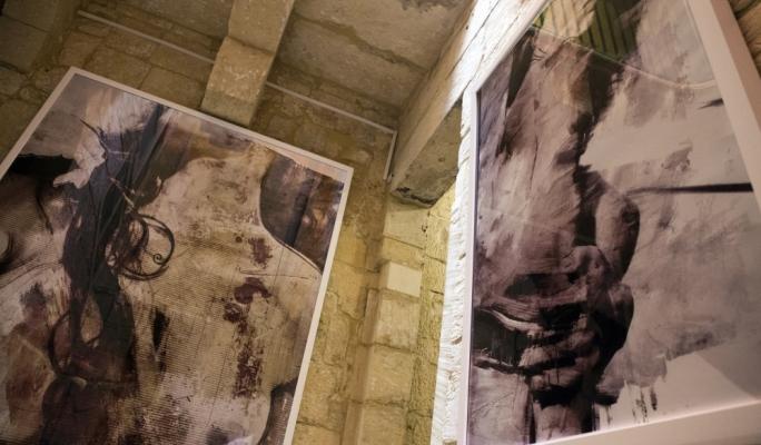 Her Majesty will remain on display at Akkademja Kulturali Pawlina in Valletta until June 26. Photo by Clint Scerri Harkins