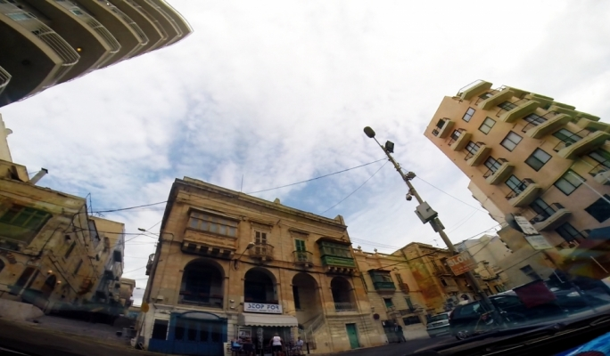 The view from the car: Adrian Abela's Median is a 'little Odyssey' through Malta