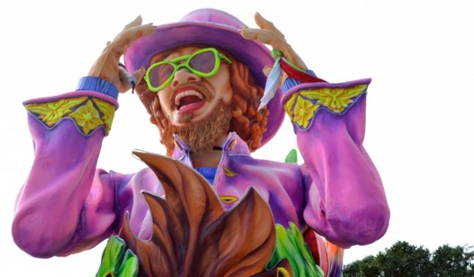 Carnival floats 2016 •Photo by Ray Attard