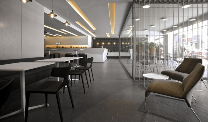Waterbiscuit offers stylish dining for breakfast, lunch or dinner – or even a snack in between