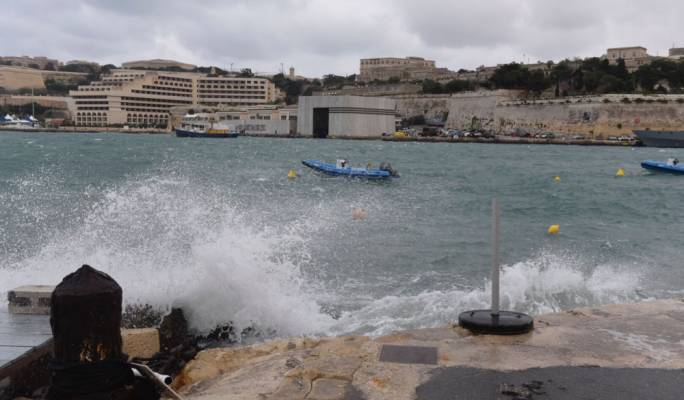 The aftermath of strong winds and waves which hit the island on Wednesday and Thursday. Photos by James Bianchi