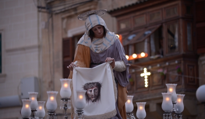 Good Friday procession in Zejtun. Photo: Chris Mangion