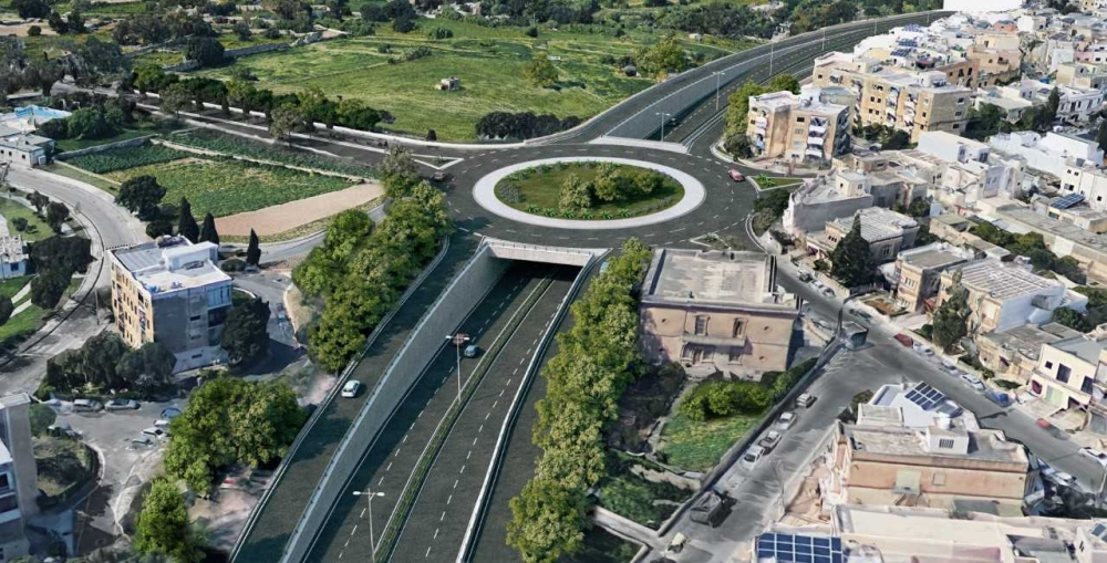 300 trees face uprooting as Santa Lucija tunnels project gets underway