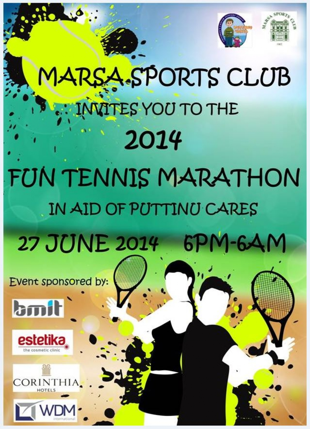 3rd edition of Tennis Marathon in aid of Puttinu Cares to be held next weekend