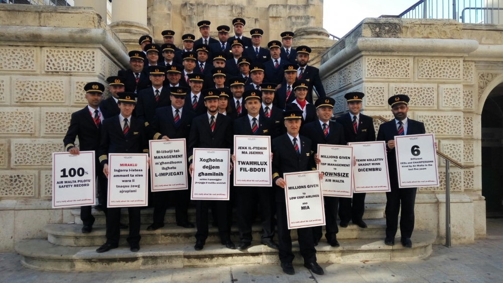 Air Malta sues pilots' union over 'illegal' industrial action