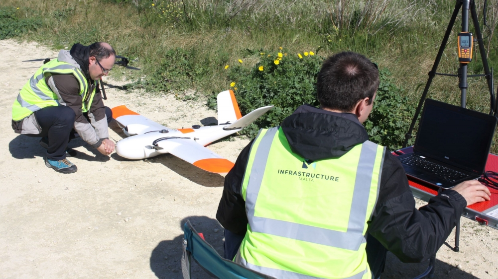 Drones will map out 2,500 kilometres of Malta's roads for new database